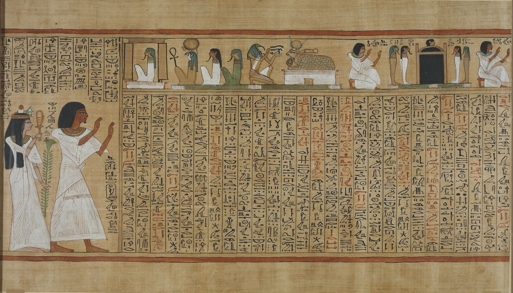 file book of the dead of hunefer sheet 7     wikimedia