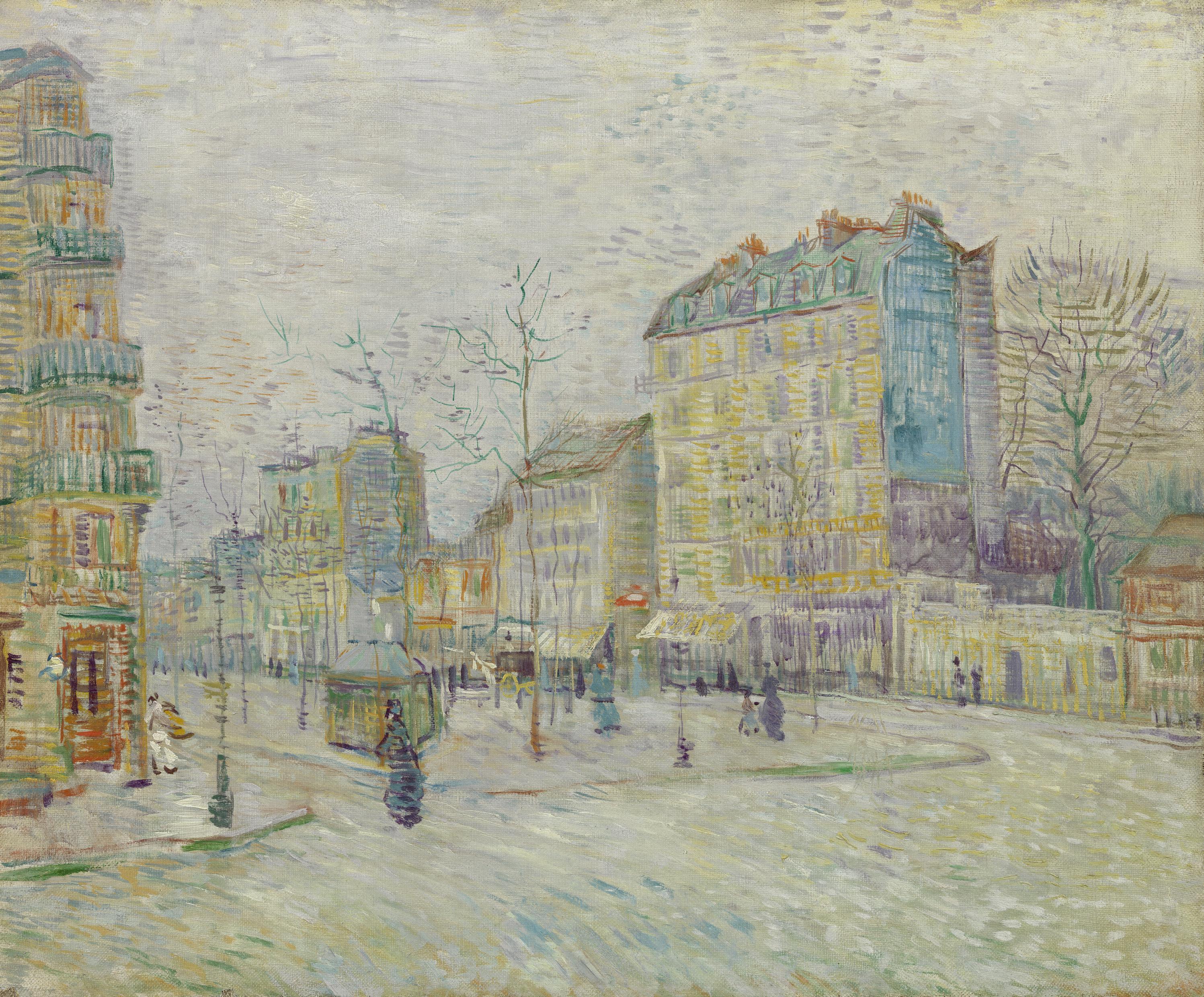 Boulevard de Clichy - Bgemalt von Vincent van Gogh, 1887