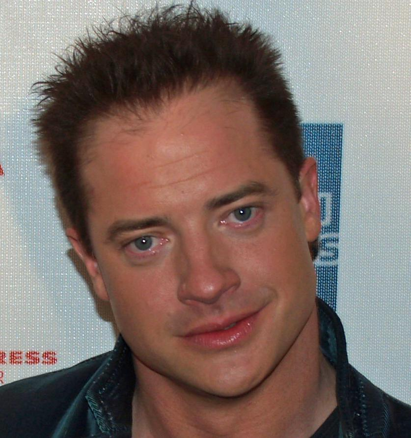Brendan Fraser couple