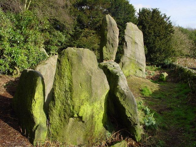 Bridestone Burial Chamber, Timbersbrook - geograph.org.uk - 104023