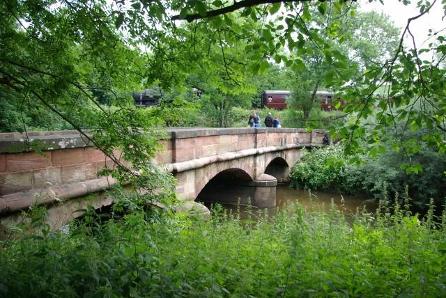 Bridge over the Churnet river - geograph.org.uk - 874237