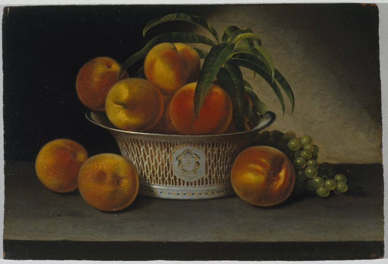 File:Brooklyn Museum - Still Life with Peaches - Raphaelle Peale - overall.jpg