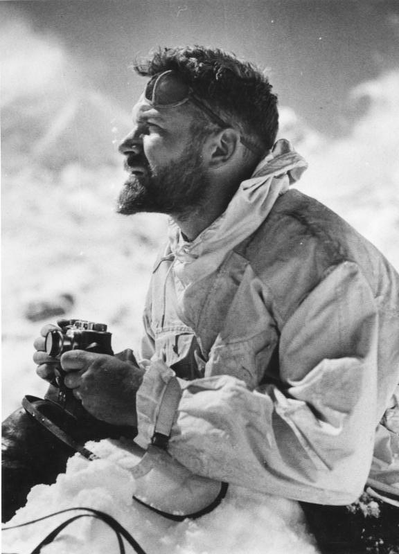 Ernst Schäfer during his last expedition to [[Tibet]] in 1938