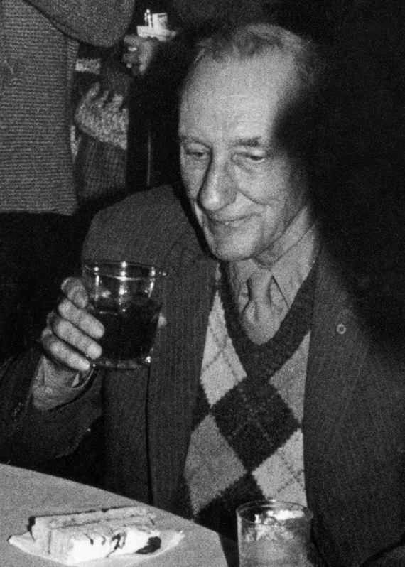 Depiction of William Burroughs