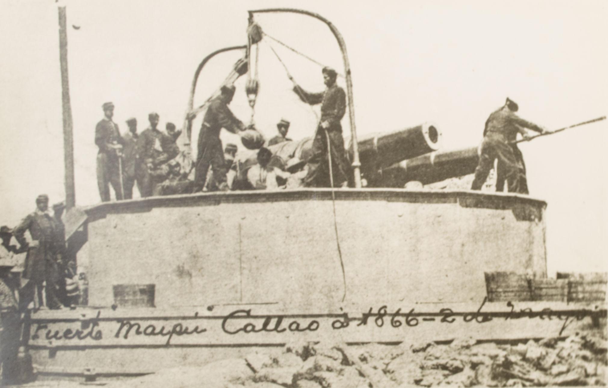 Guerra hispano-sudamericana (1865 - 1871) Callaogunners