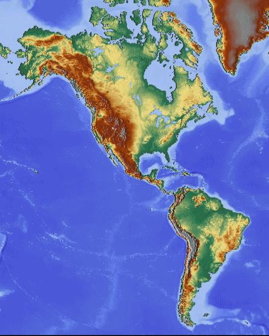 Cartina Geografica America Del Nord Fisica.File Carta Geografica Fisica America Nord E Sud Png Wikimedia Commons
