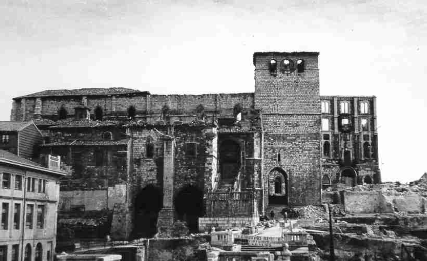 Resultado de imagen de catedral de Santander antes