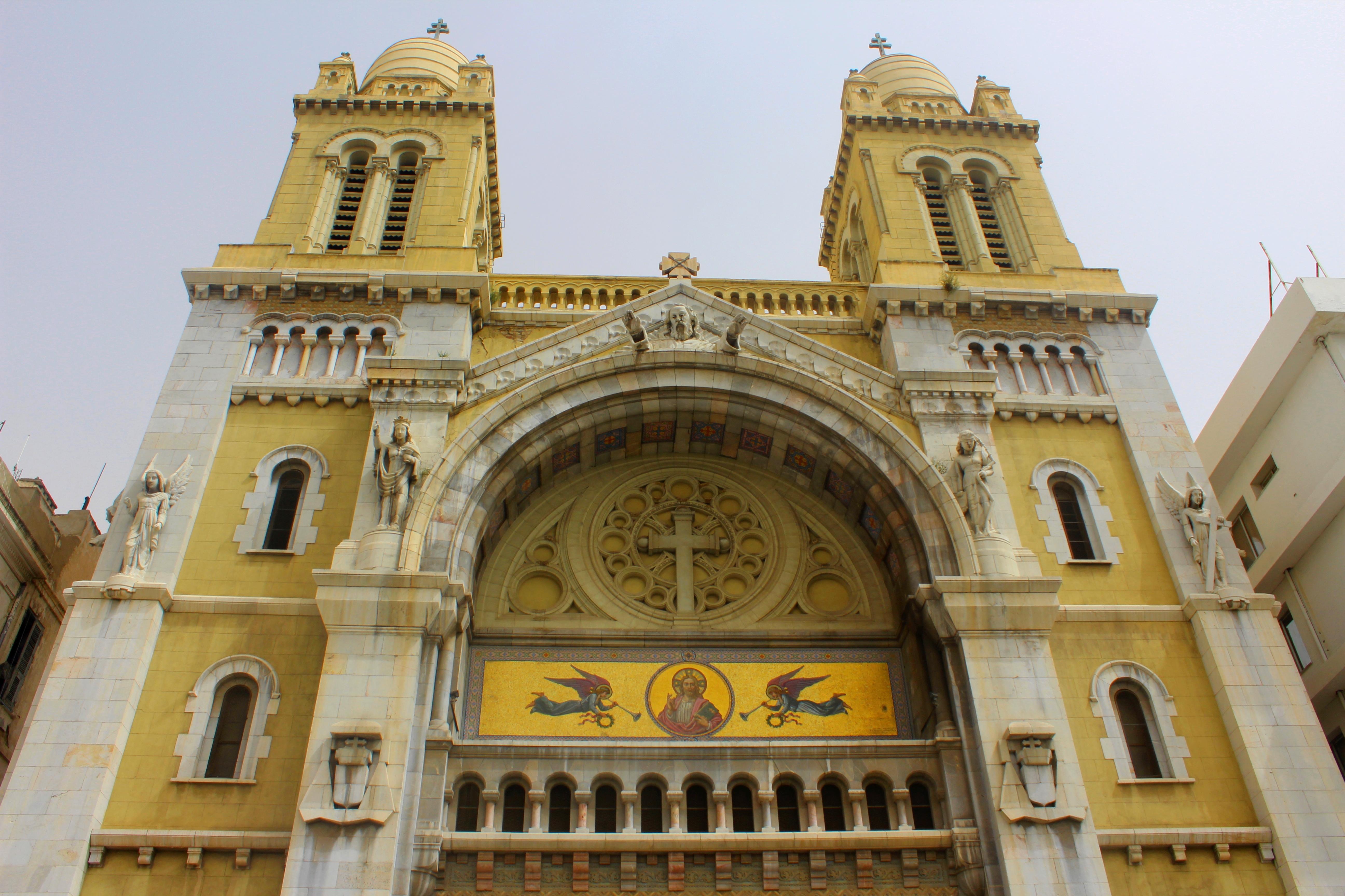 كاتدرائية تونس من زاوية أخرى