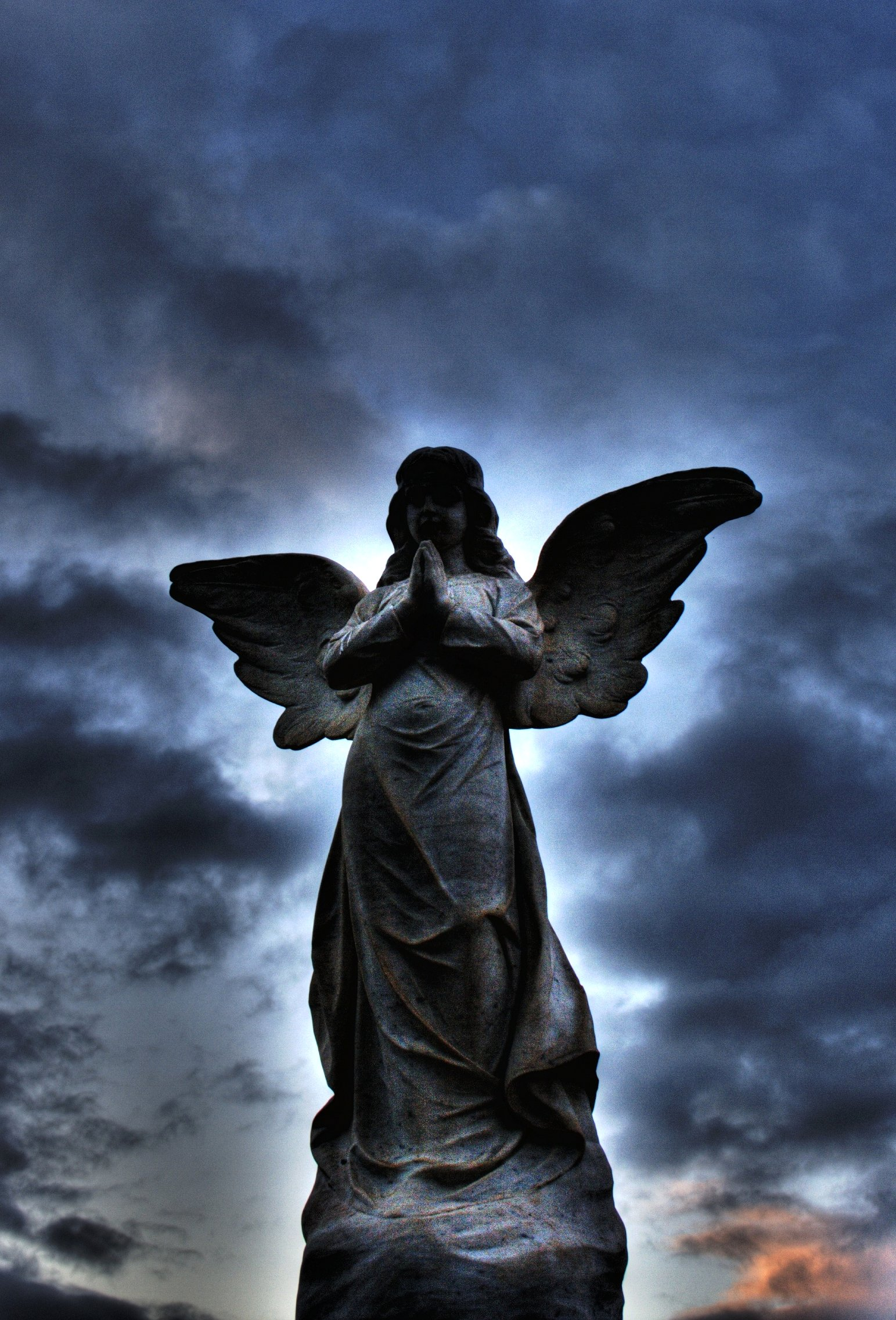 Http Commons Wikimedia Org Wiki File Cemetery Angel 002 Hdr Jpg