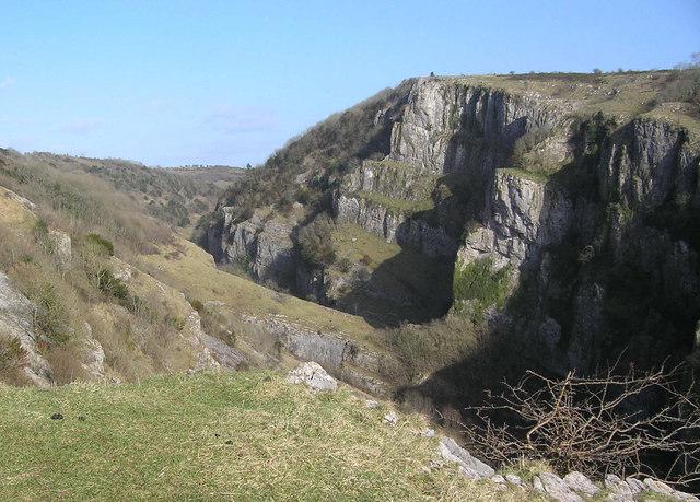 Cheddar Gorge - geograph.org.uk - 1206871