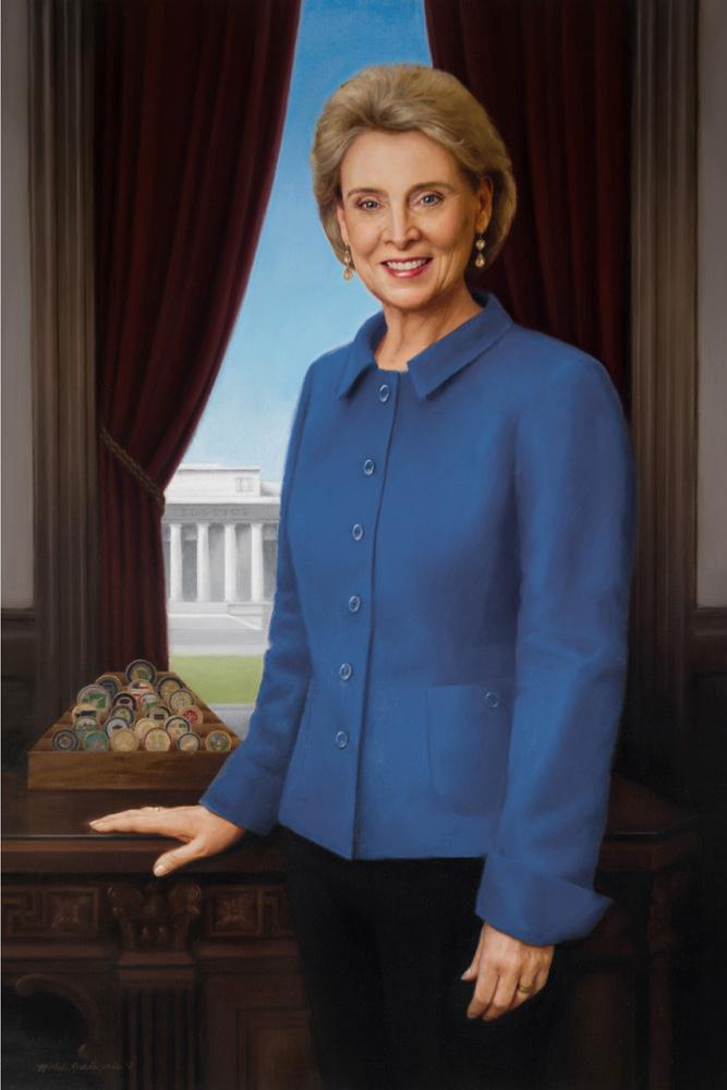 Chris Gregoire official gubernatorial portrait by Michele Rushworth.jpg