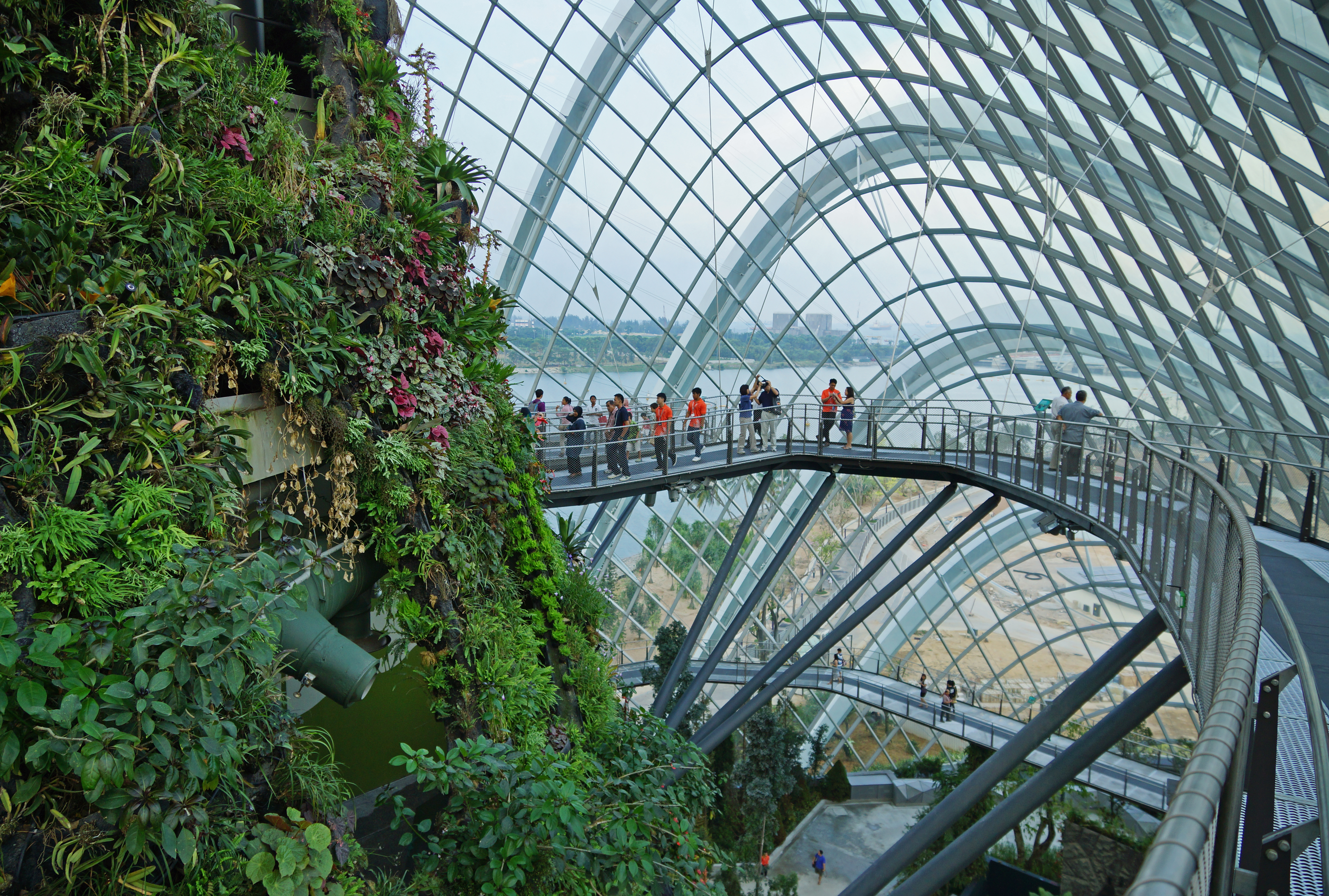 File Cloud Forest Gardens By The Bay Singapore