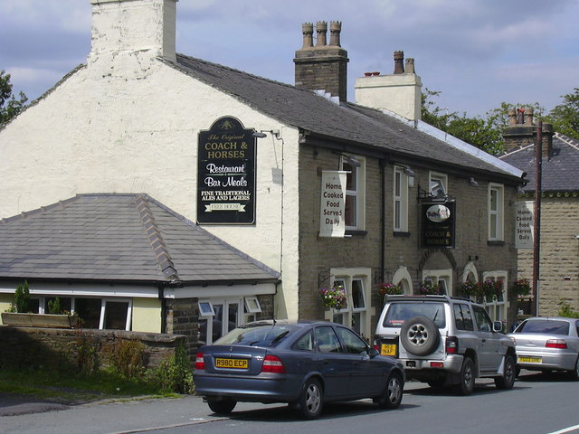 Coach and Horses Market Street Edenfield - geograph.org.uk - 499123