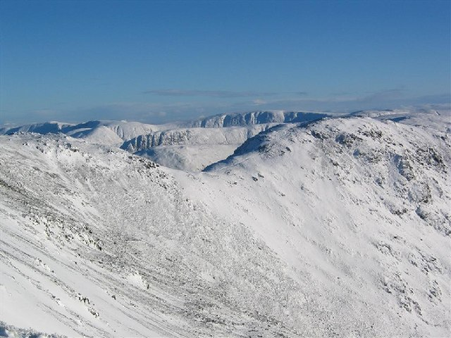 Col between Hart Crag and Fairfield, Fairfield Horseshoe - geograph.org.uk - 75780