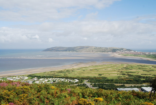 Conwy Sands from Conwy Mountain - geograph.org.uk - 1478515