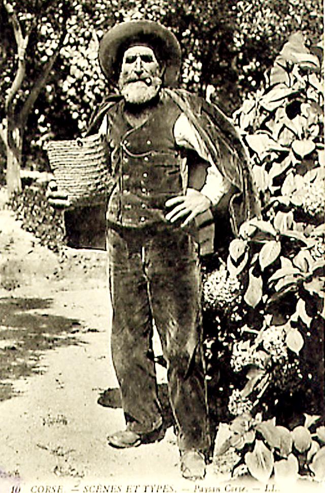 Tribal Corse file:corse type de paysan - wikimedia commons