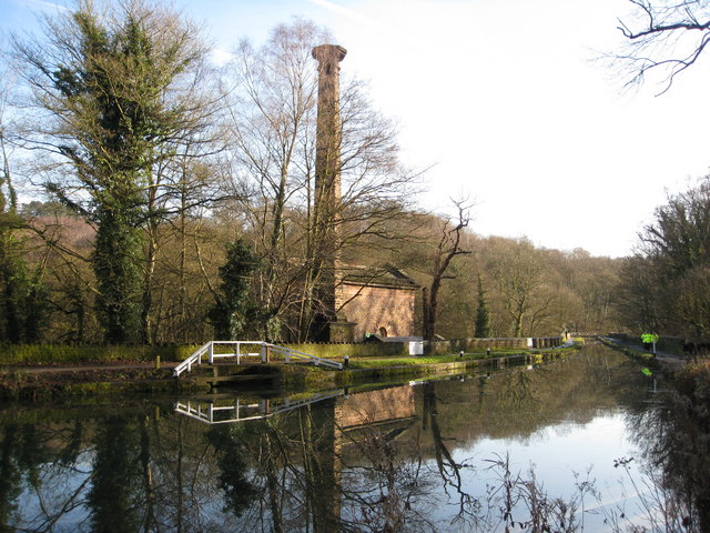 Cromford Canal and Leawood Pump - geograph.org.uk - 1128992