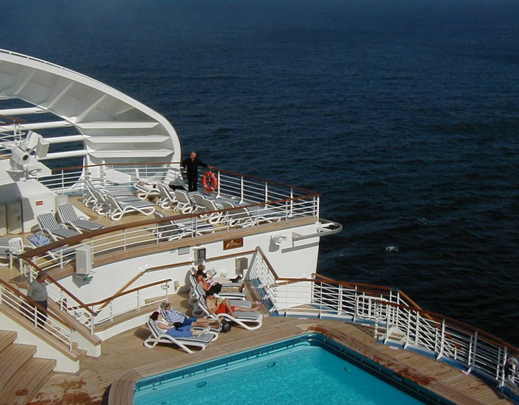 Cruise Ship Deck Images Amp Pictures  Becuo
