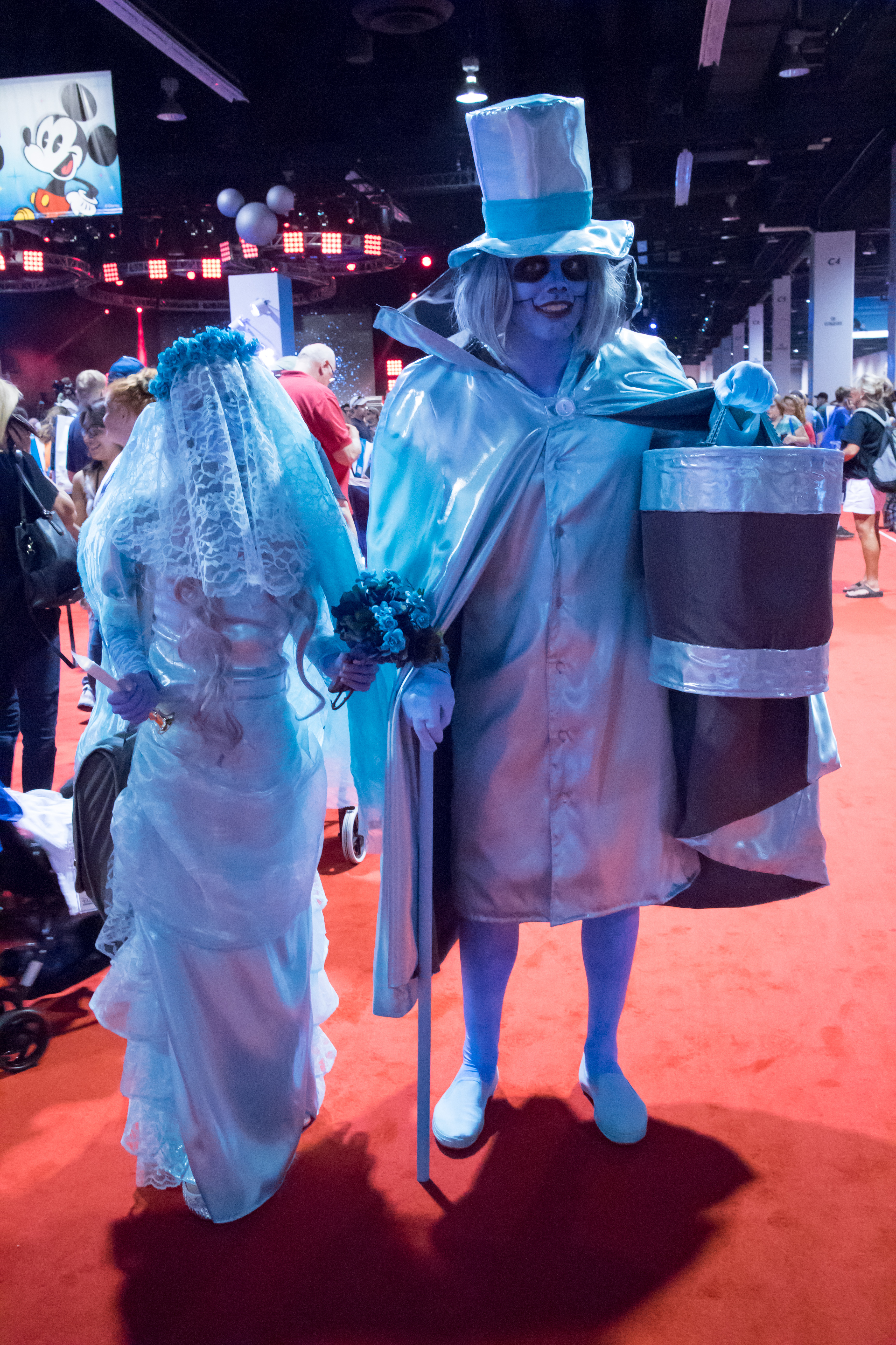 FileD23 Expo 2015 - Constance u0026 Hatbox Ghost (19995652973).jpg & File:D23 Expo 2015 - Constance u0026 Hatbox Ghost (19995652973).jpg ...