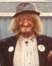 Day 139 - Worzel Gummage at Birmingham airport - 1982 (14515725233)