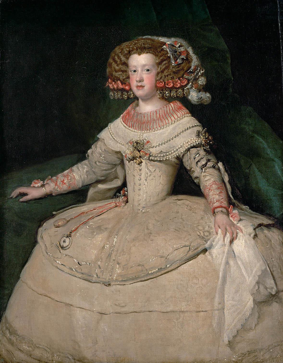 Velaquez ja espanjalainen hovipuku 1660-luvulla.