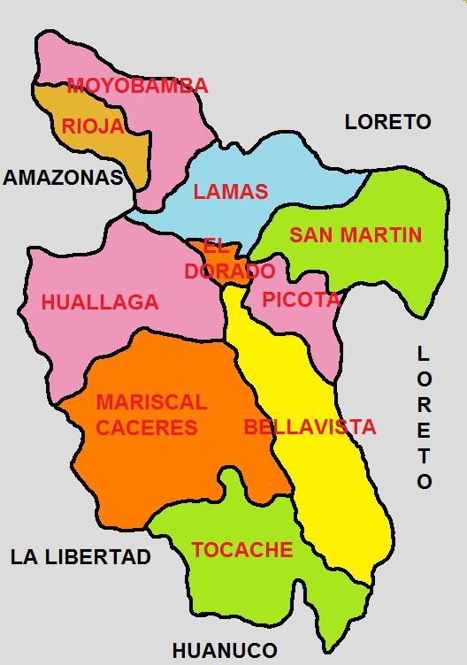 File Division Politica De San Martin Jpg Wikimedia Commons