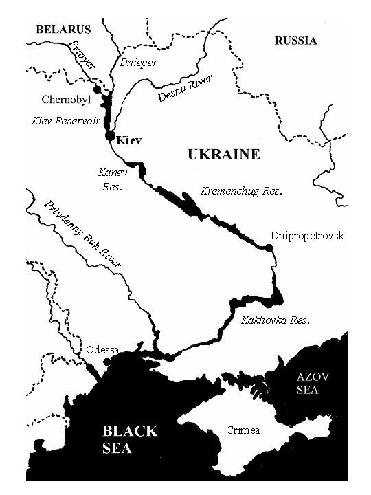 Dnieper river demeanor