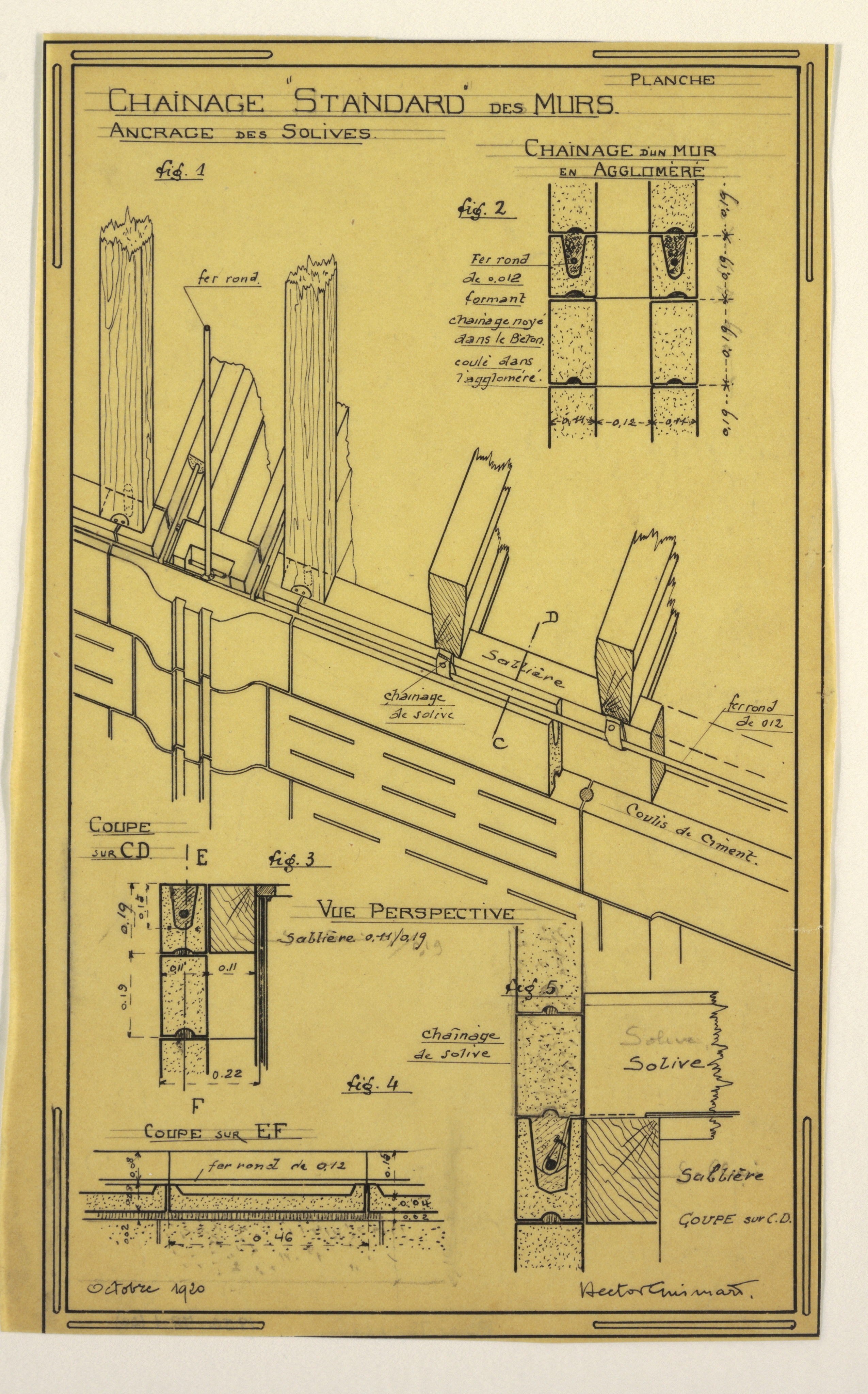 Filedrawing Design For A Mass Operational House Designed By Hector Wall Schematic Engineering Diagram Guimard