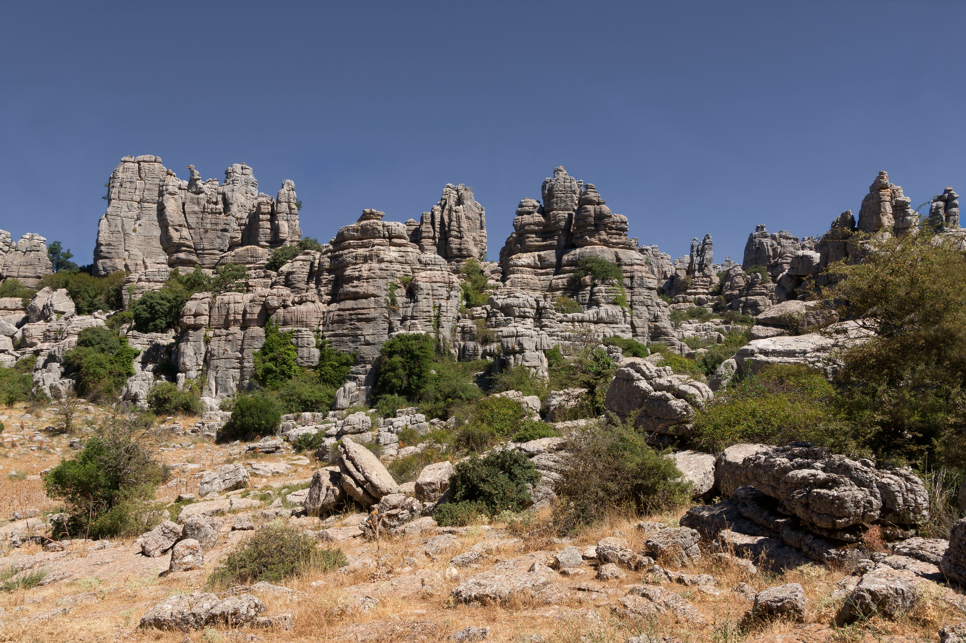 Antequera Spain  city images : Description El Torcal de Antequera karst scenery Andalusia Spain
