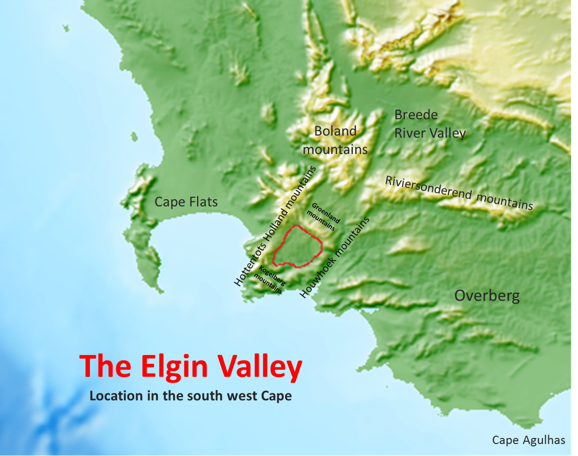 File:Elgin valley location map   Western Cape South Africa.png
