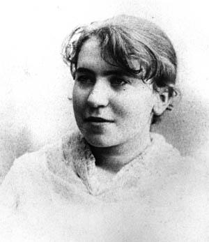 Эмма Гольдман в 17-летнем возрасте.