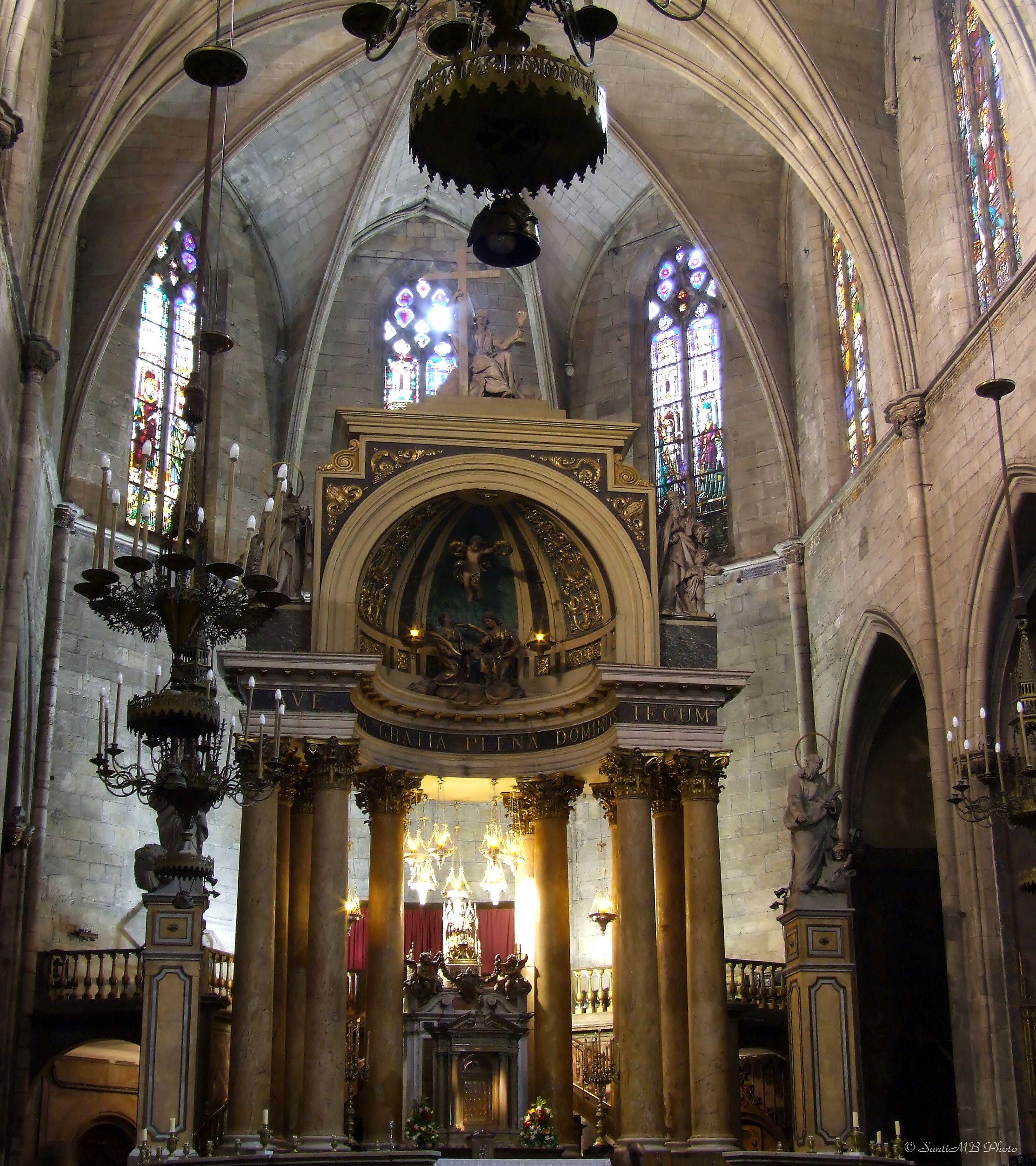 Fitxer:Església de Sant Just i Pastor (Barcelona) - 2.jpg ...