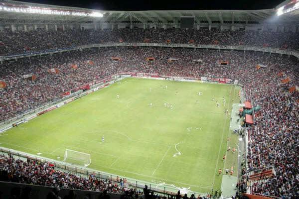 Depiction of Estadio Metropolitano de Lara
