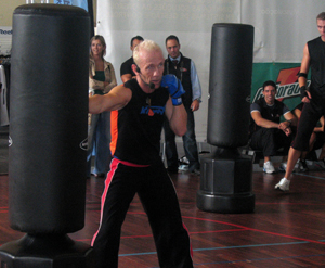 Kickbox Cardio:  Kick Your Way into a Healthier Body