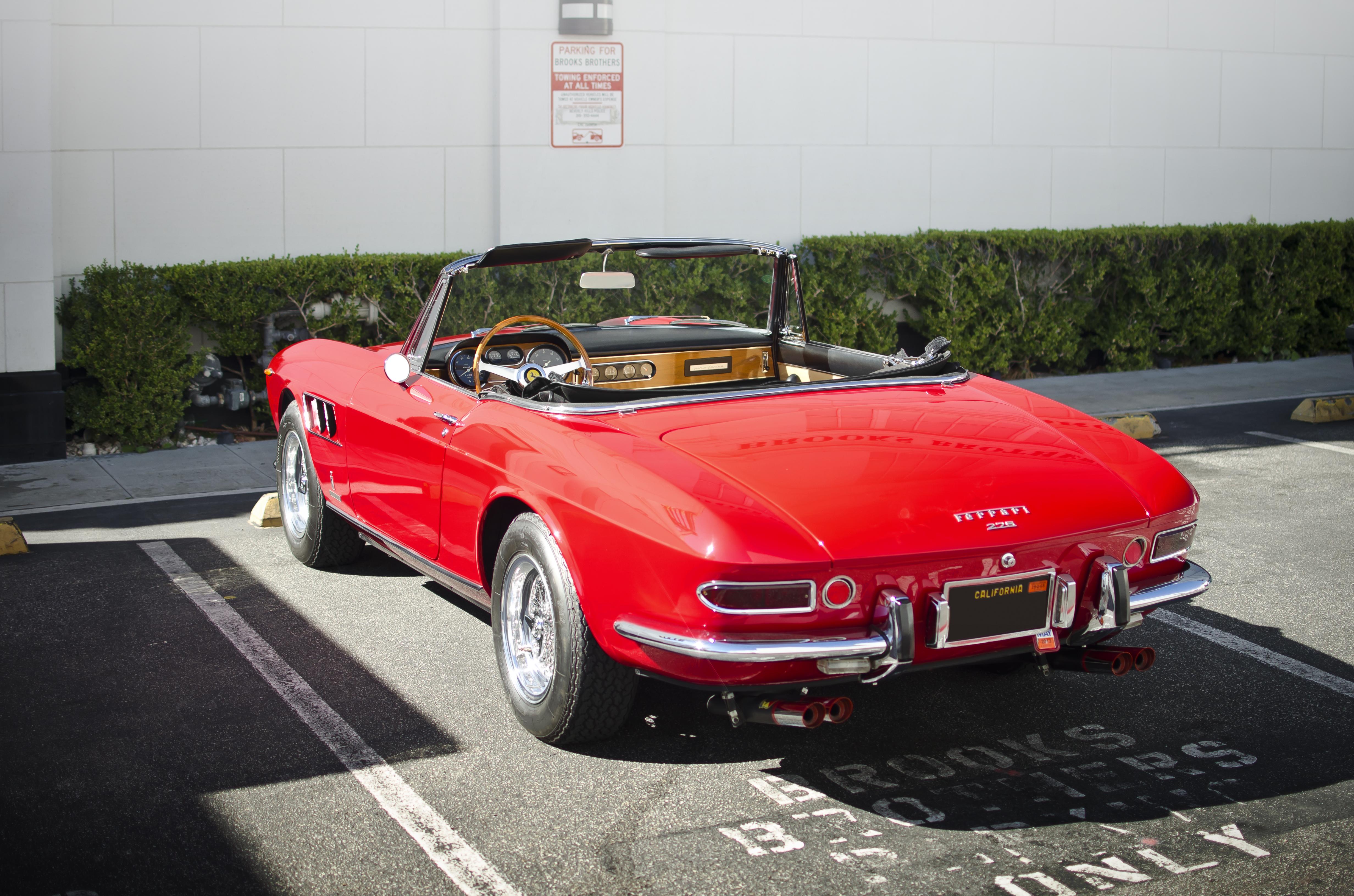 Datei Ferrari 275 Gts Rear Jpg Wikipedia