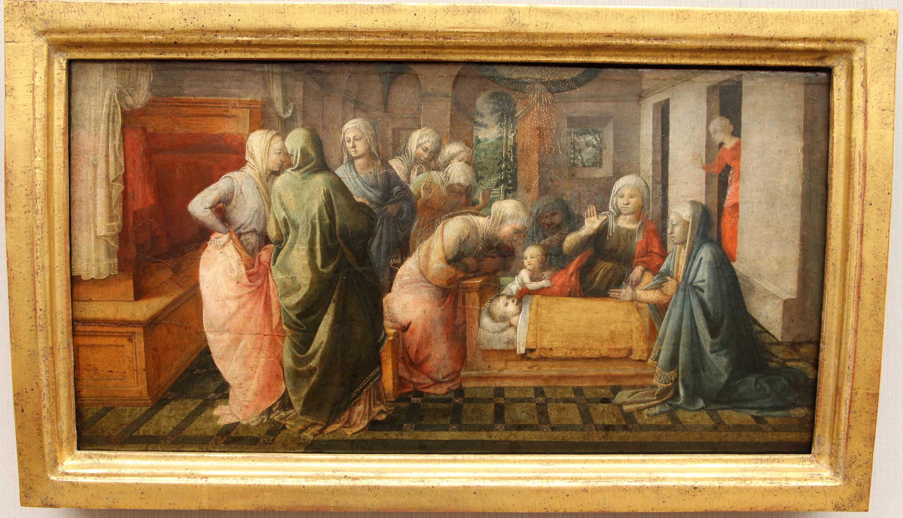 File:Filippo lippi, il miracolo delle api di sant'ambrogio, 1441-