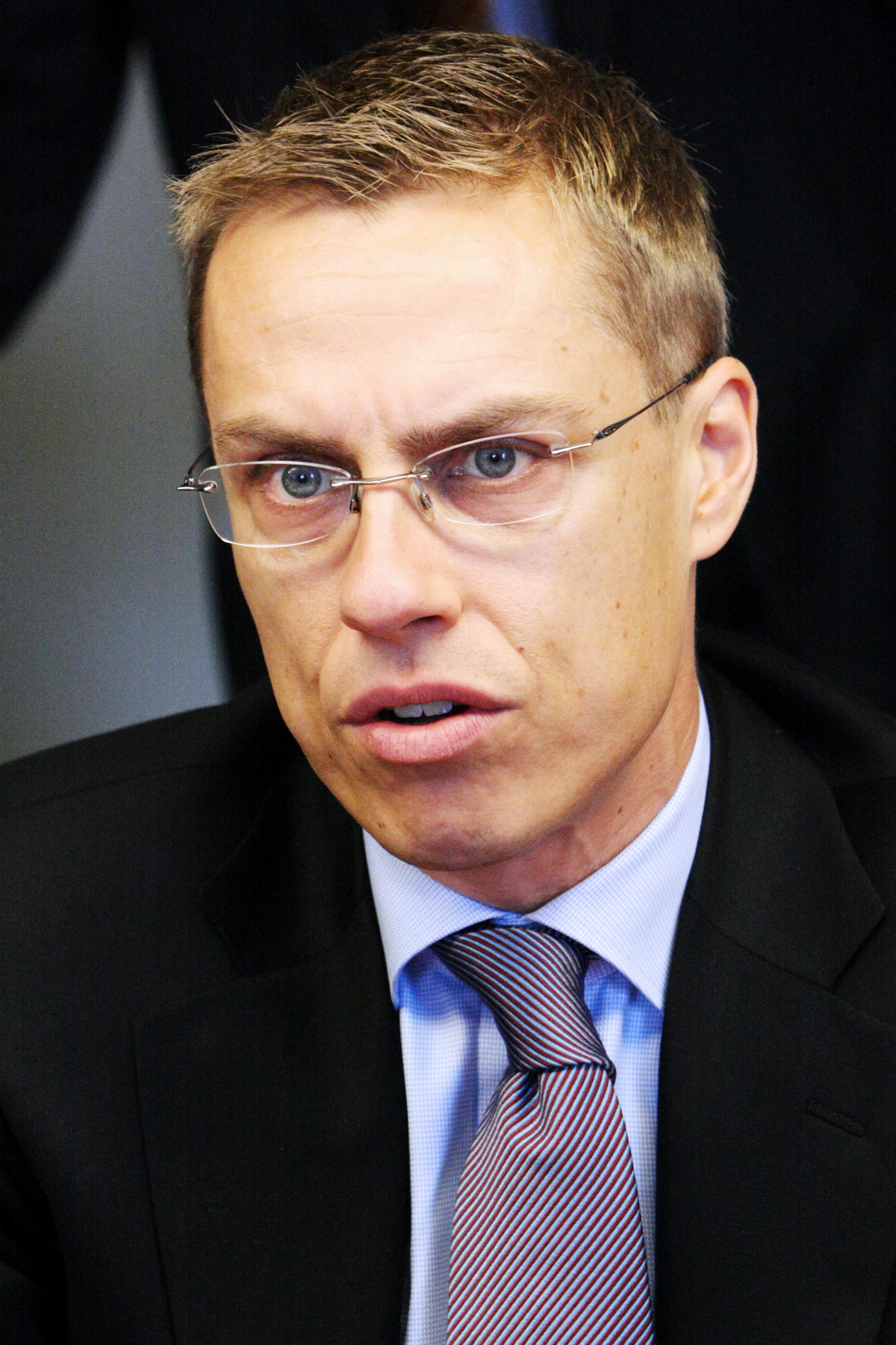 Александр Стубб