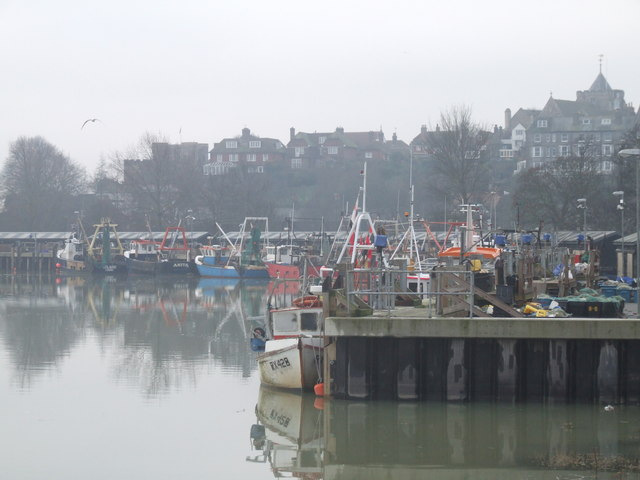 Fish Market Quay, Rye, East Sussex - geograph.org.uk - 652654