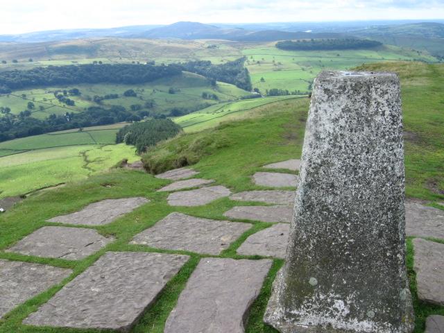 From Shutlingsloe trig point S2760 - geograph.org.uk - 1413870