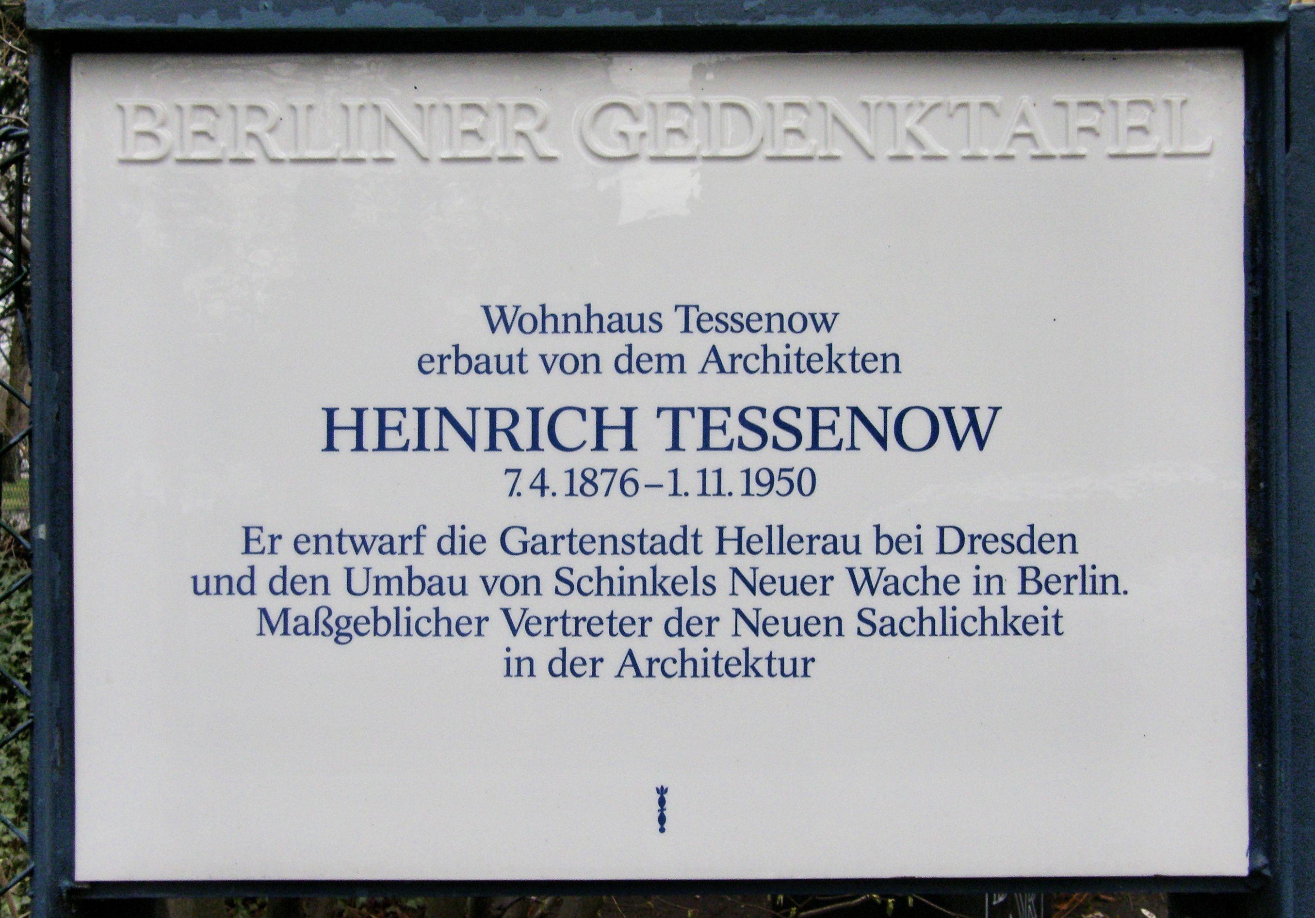 Tessenow Jpg Lizenz Attribution Autoren Eigenes Werk Ursprünglicher Schöpfer Axel Mauruszat