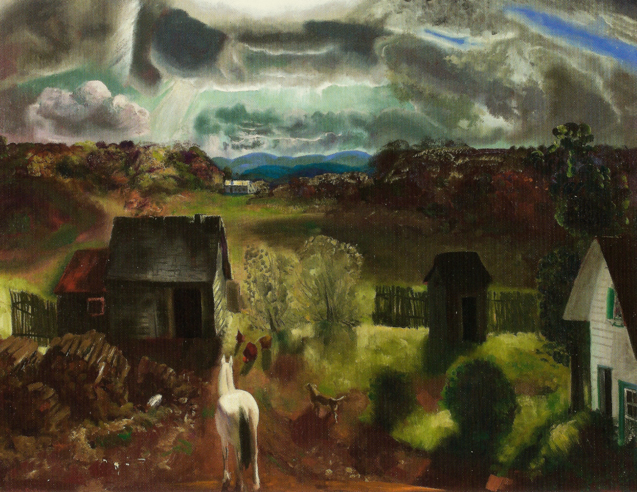 File George Bellows The White Horse 1922 Jpg Wikimedia Commons