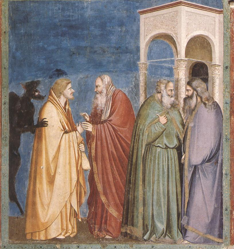 https://upload.wikimedia.org/wikipedia/commons/1/15/Giotto_-_Scrovegni_-_-28-_-_Judas_Receiving_Payment_for_his_Betrayal.jpg