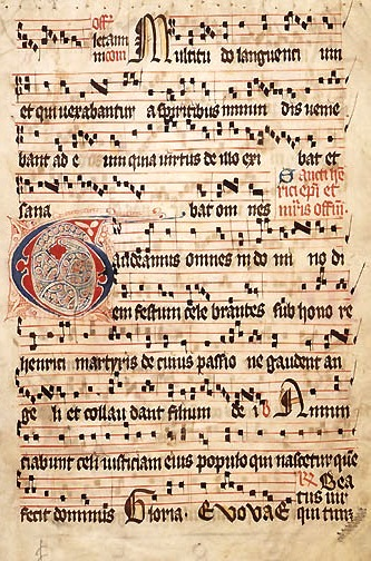 Graduale Aboense, hymn book of Turku, Finland....