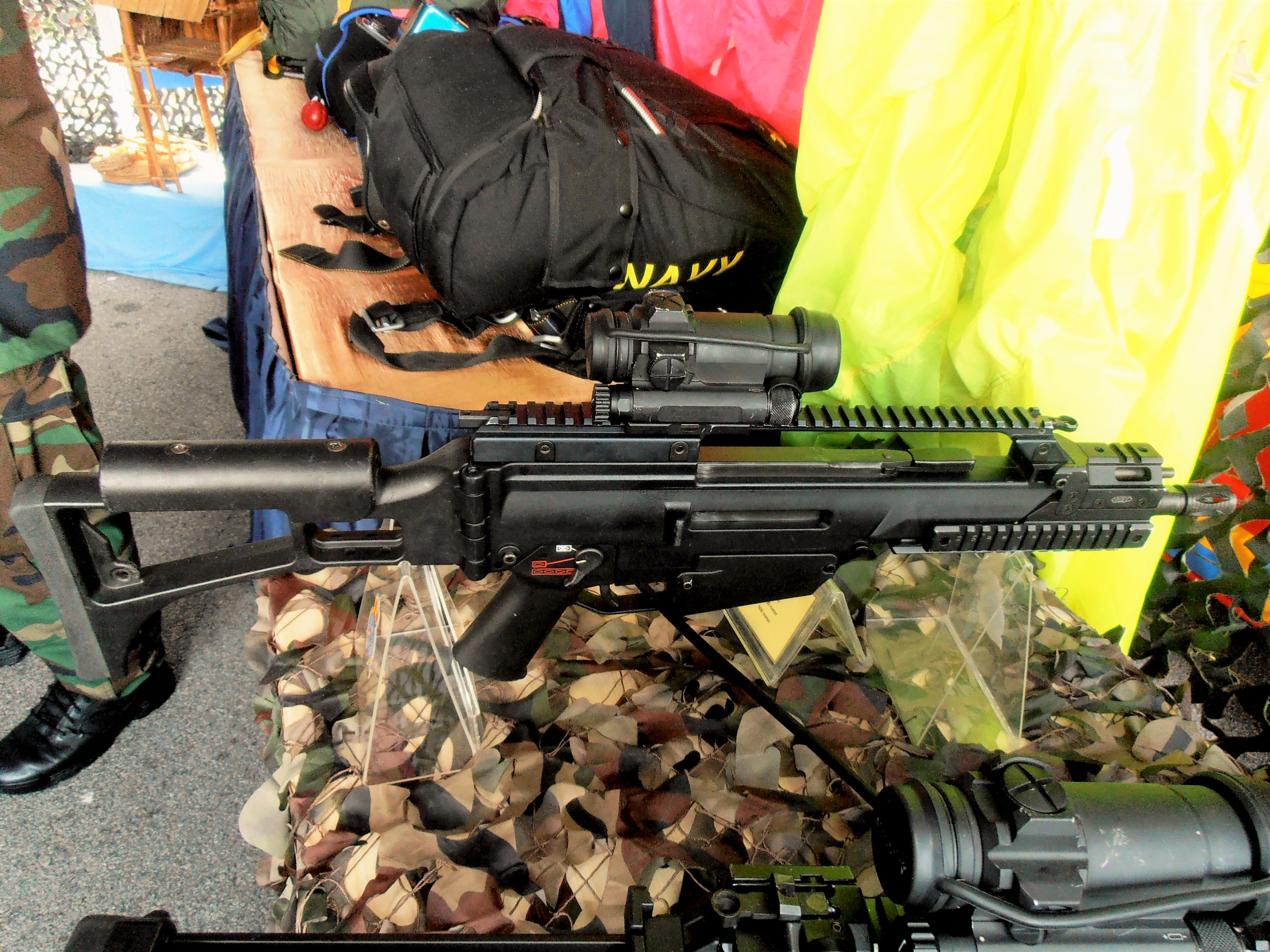 Xm8 Compact Carbine File:H&K G36 Compa...