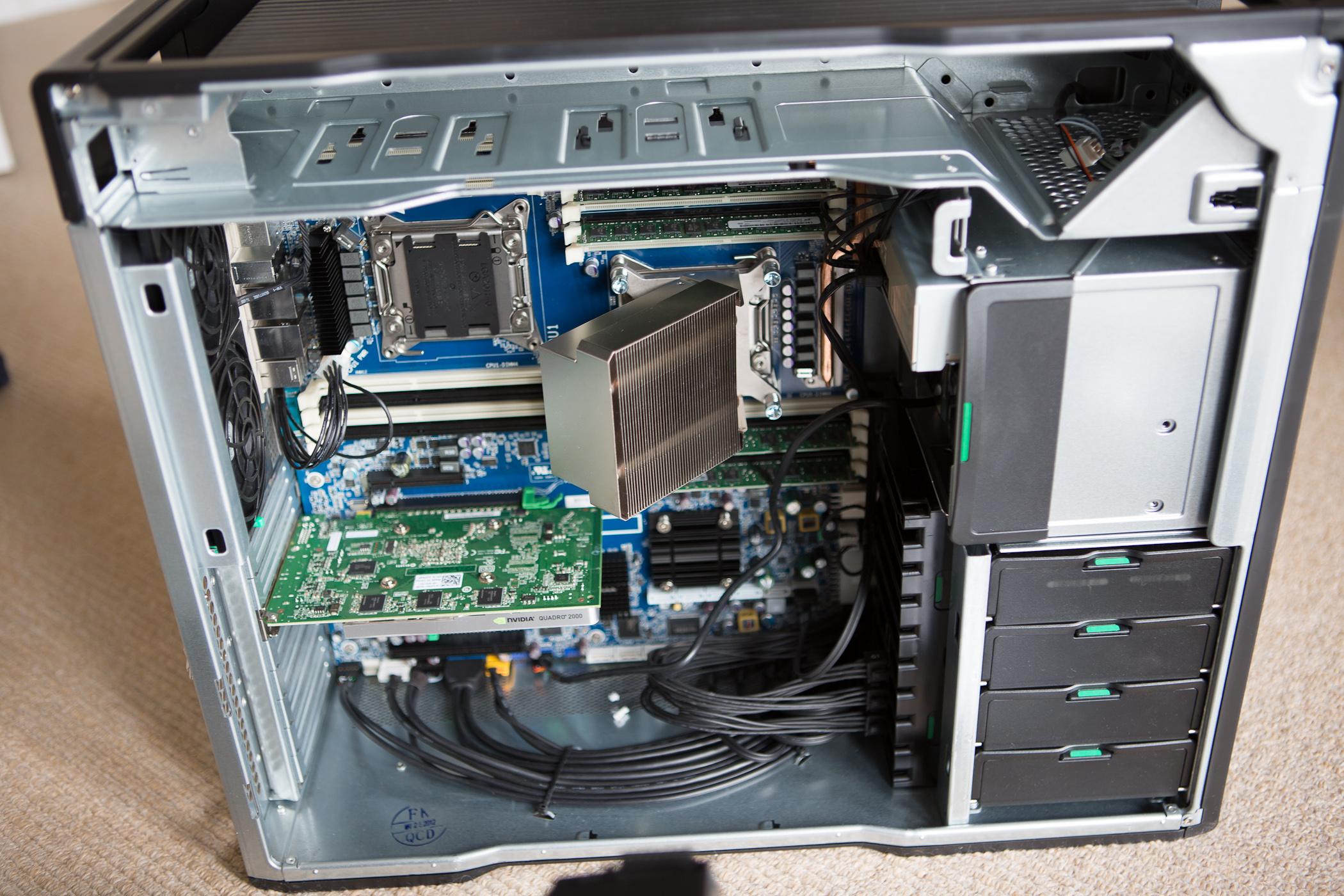 Z Motherboard File:HP Z820 Workstati...