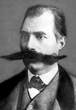 Moustache Facial hair grown above the upper lip
