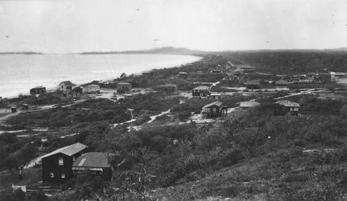 Homes in the sandhills at Tugun Beach circa 1926