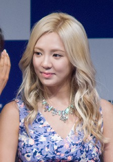 Hyoyeon at Dancing 9 press conference, 10 July 2013.jpg