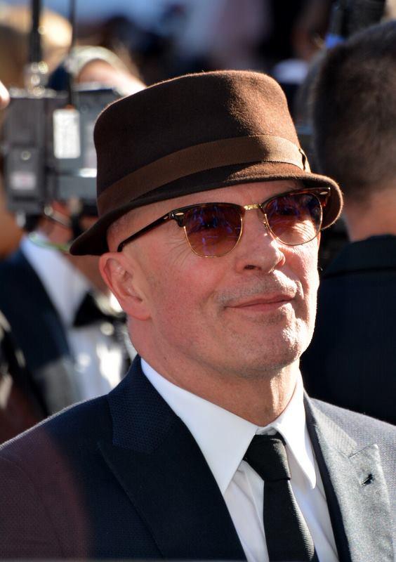 Il 66-anni, 177 cm alto Jacques Audiard in 2018 photo
