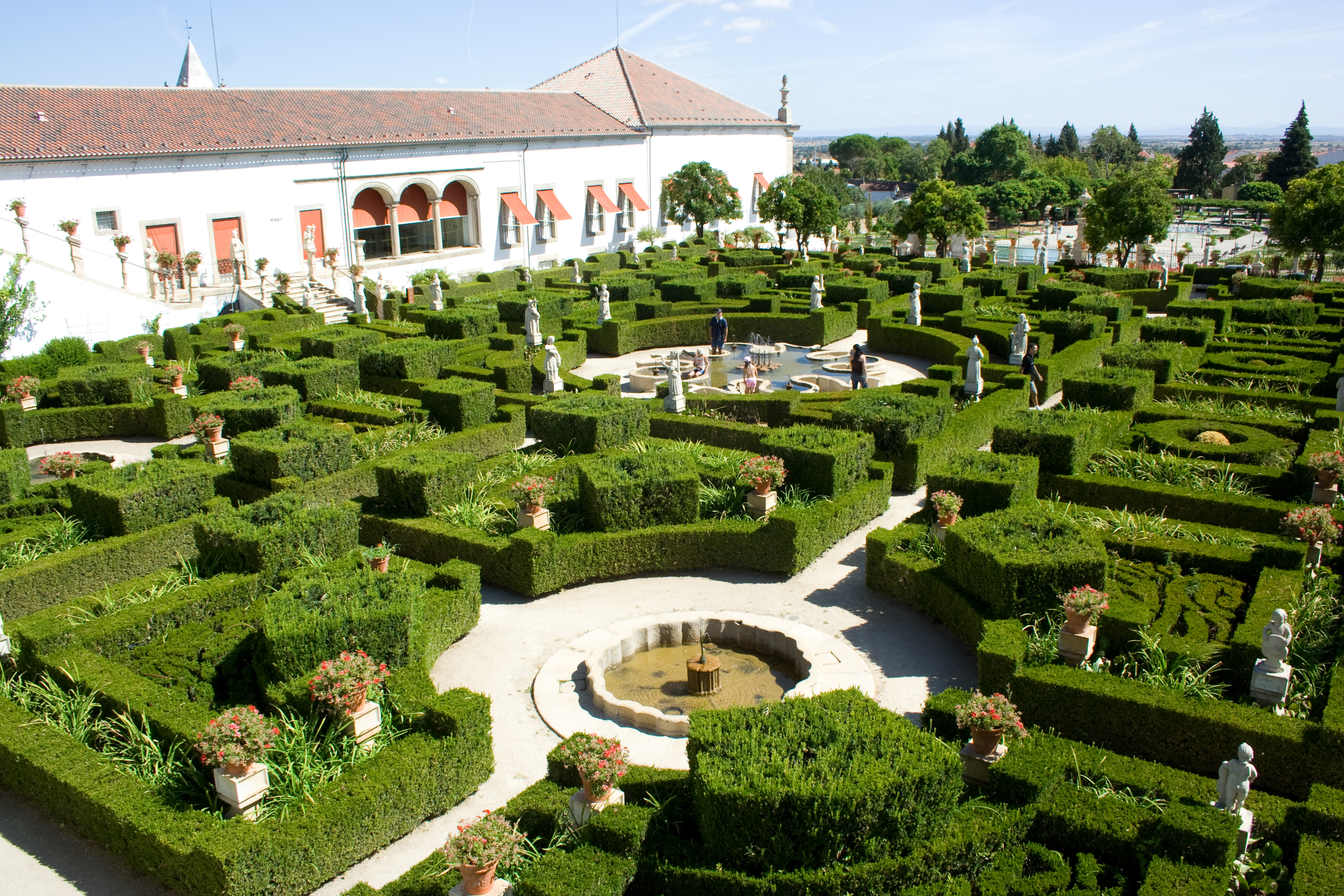 Top 10 most beautiful garden in the world - Castelo Branco Portugal
